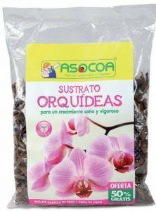 cuando es el mejor momento para trasplantar una orquídea, sustrato preparado para orquídeas