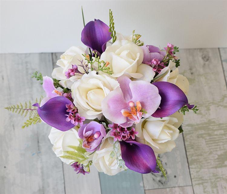 Buquet ramo de orquídeas