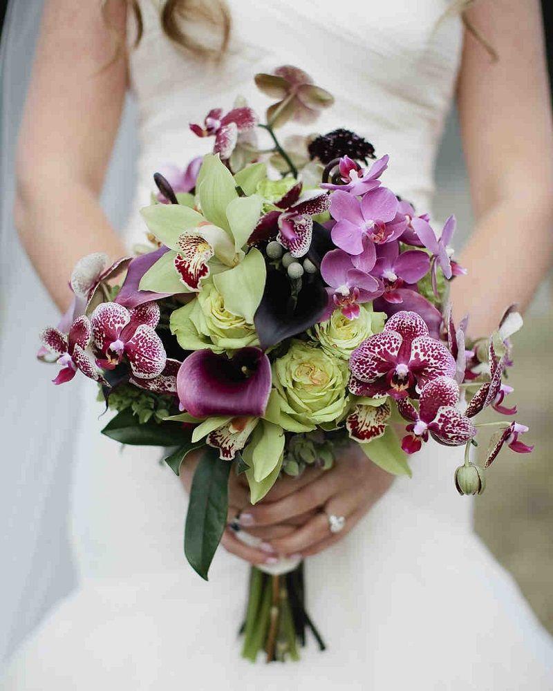 Ramo de orquídeas para boda